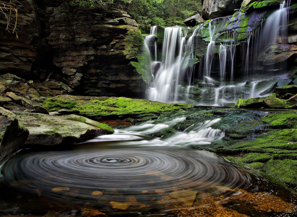 West Virginia waterfalls in a National G by ForestWander.com, on Flickr