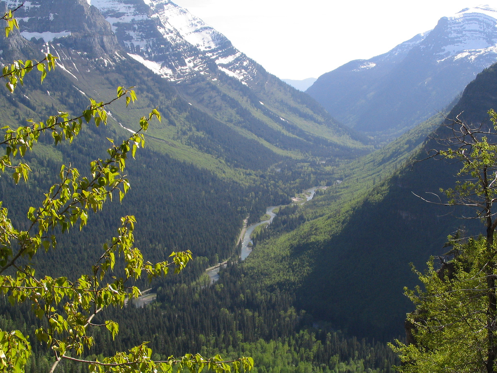 U-Shaped Valley, Going-to-the-Sun Road, by Ken Lund, on Flickr