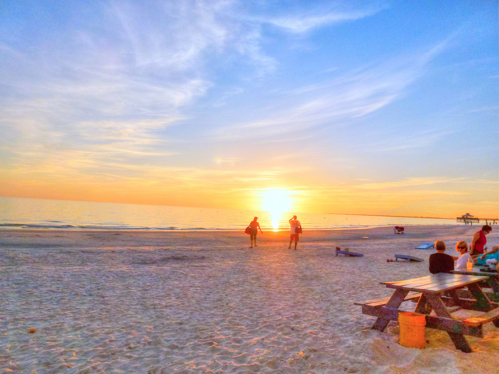 Ft. Myers Beach Sunset by Matthew Straubmuller, on Flickr