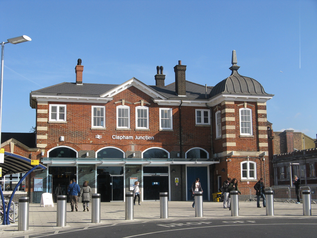 Clapham Junction station (CLJ) entrance by Secret Pilgrim, on Flickr