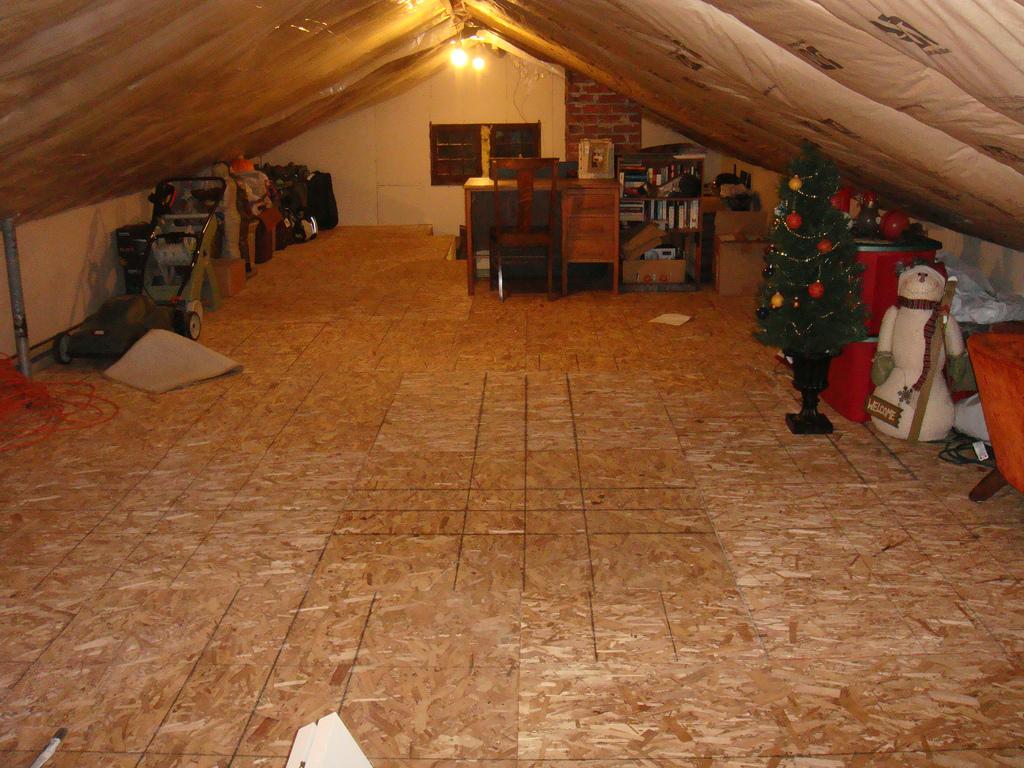 attic storage by AdrianeL, on Flickr