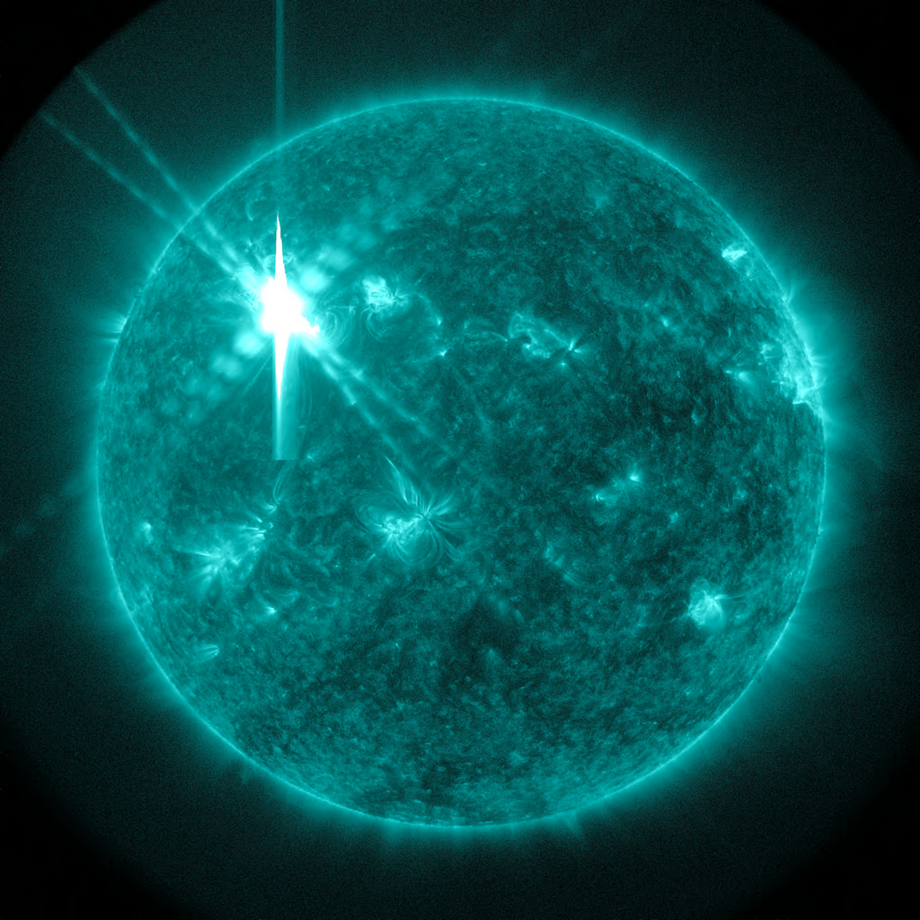 X Class Solar Flare Sends 'Shockwaves� by NASA Goddard Photo and Video, on Flickr