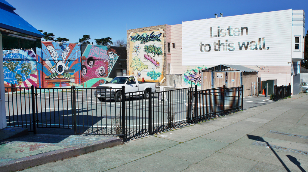 Listen to this wall (Haight Street, San by dougbelshaw, on Flickr