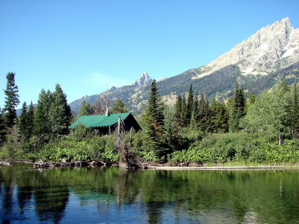 Cabin at Jenny Lake, Grand Teton 9-2011 by inkknife_2000 (8 million views +), on Flickr