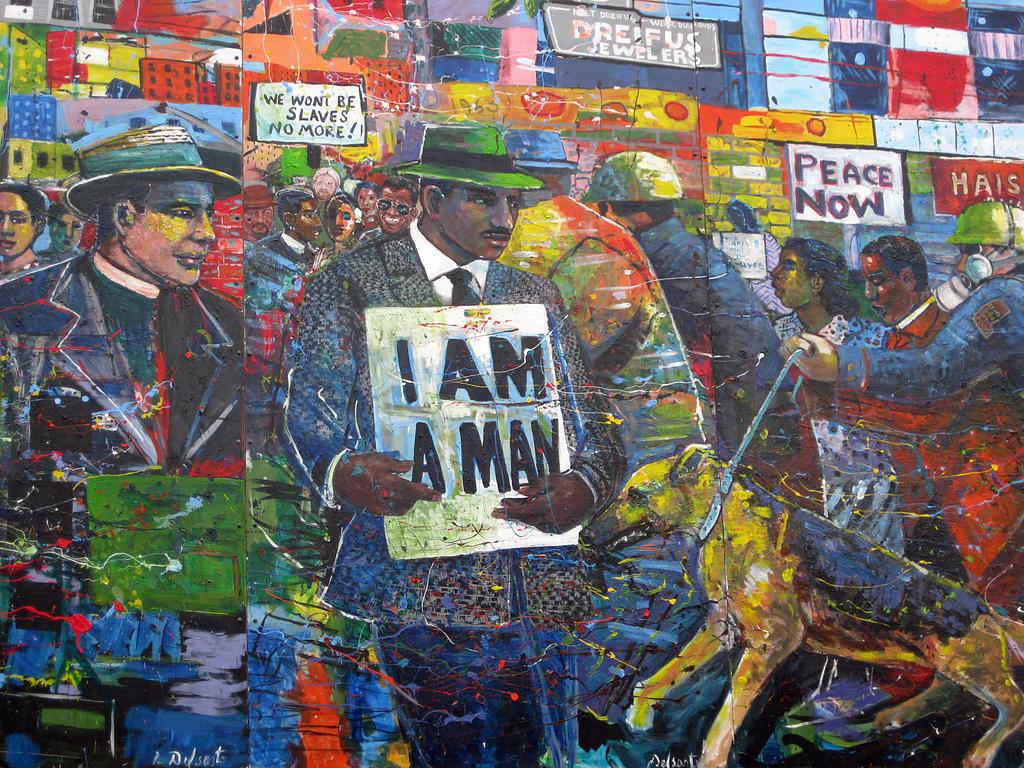 MLK Mural 2 by Ryan J. Quick, on Flickr