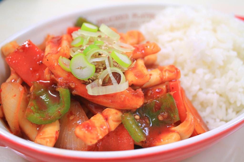 Korean spicy stir-fried squid by KFoodaddict, on Flickr