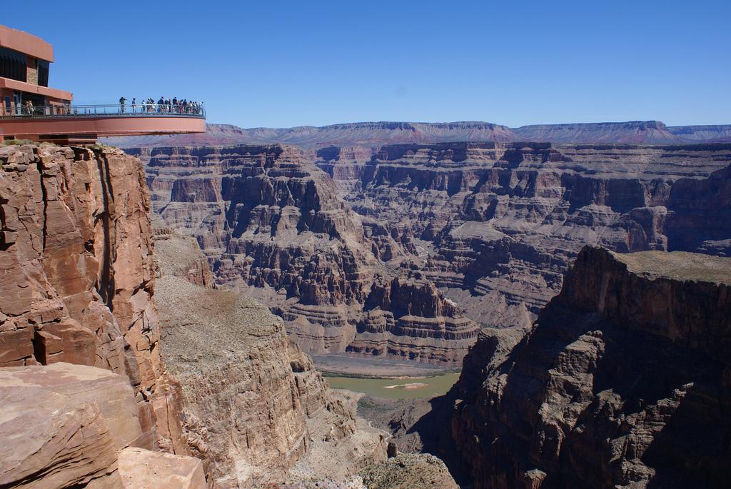 Skywalk at Grand Canyon West Ridge by L. Richard Martin, Jr., on Flickr
