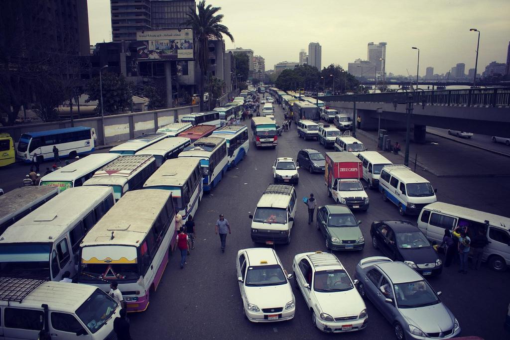 Cairo Traffic by Gigi Ibrahim, on Flickr