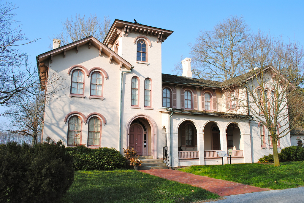 Governor Ross Mansion, Seaford, DE by Lee Cannon, on Flickr