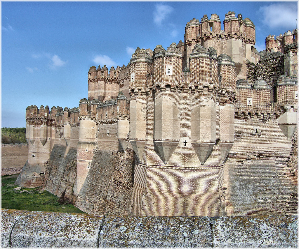 2631-Castillo mudejar de Coca (Segovia) by jl.cernadas, on Flickr