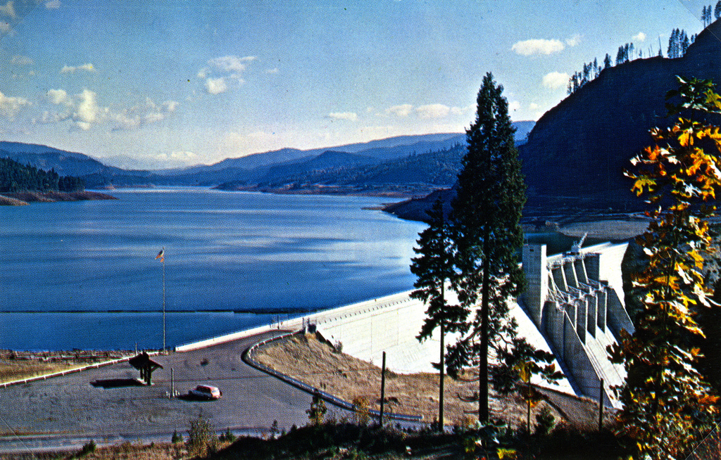 Lookout Point Dam, Willamette River, Ore by OSU Special Collections & Archives : Commons, on Flickr