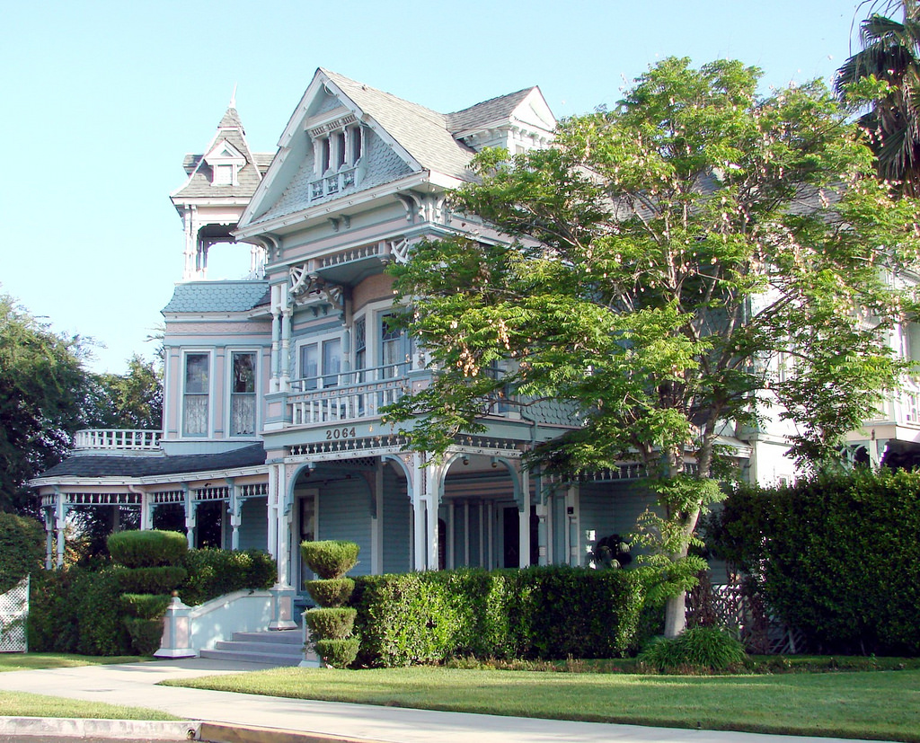 Edwards Mansion, Redlands, CA 5-2012 by inkknife_2000 (8 million views +), on Flickr