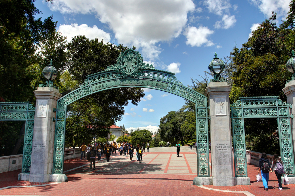 Scenes from UC Berkeley - Sather Gate by John-Morgan, on Flickr