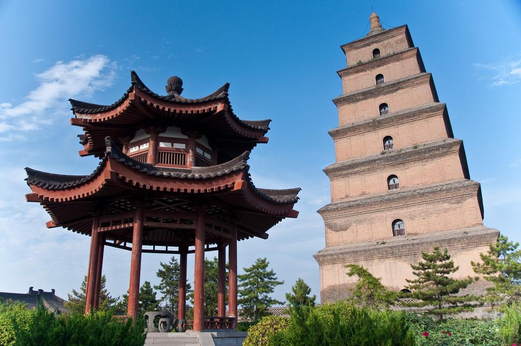 Big Wild Goose Pagoda by Mark Fischer, on Flickr