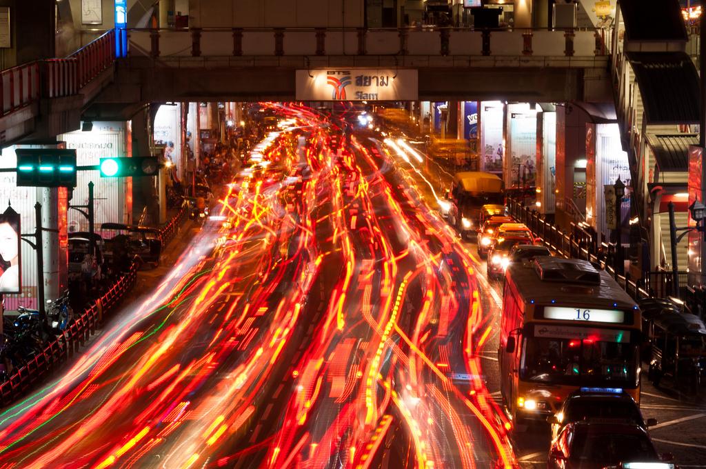 Bangkok Traffic by Mark Fischer, on Flickr