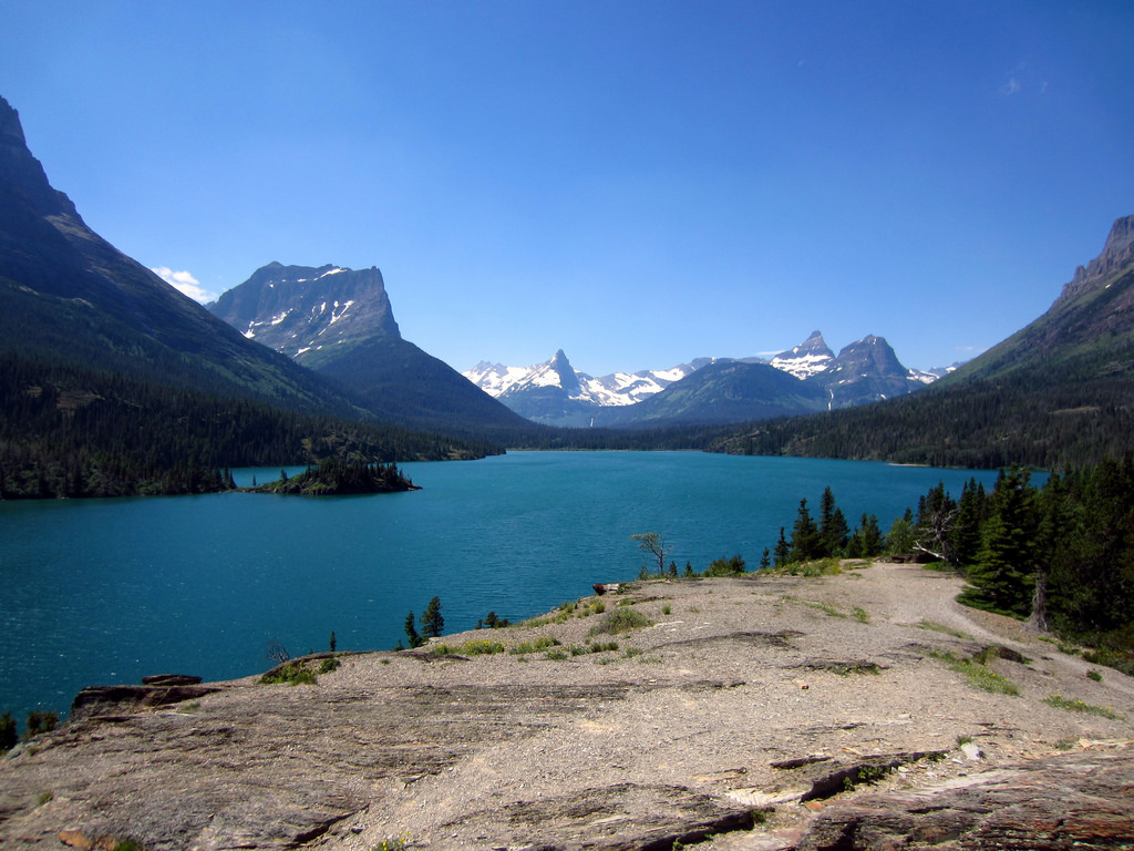 Sun Point - 1 [A spectacular view of St. by GlacierNPS, on Flickr