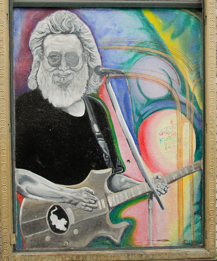 Jerry Garcia (Grateful Dead) Mural by Franco Folini, on Flickr