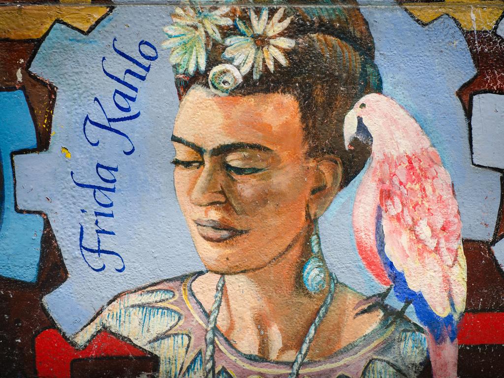 Frida Kahlo mural by Franco Folini, on Flickr