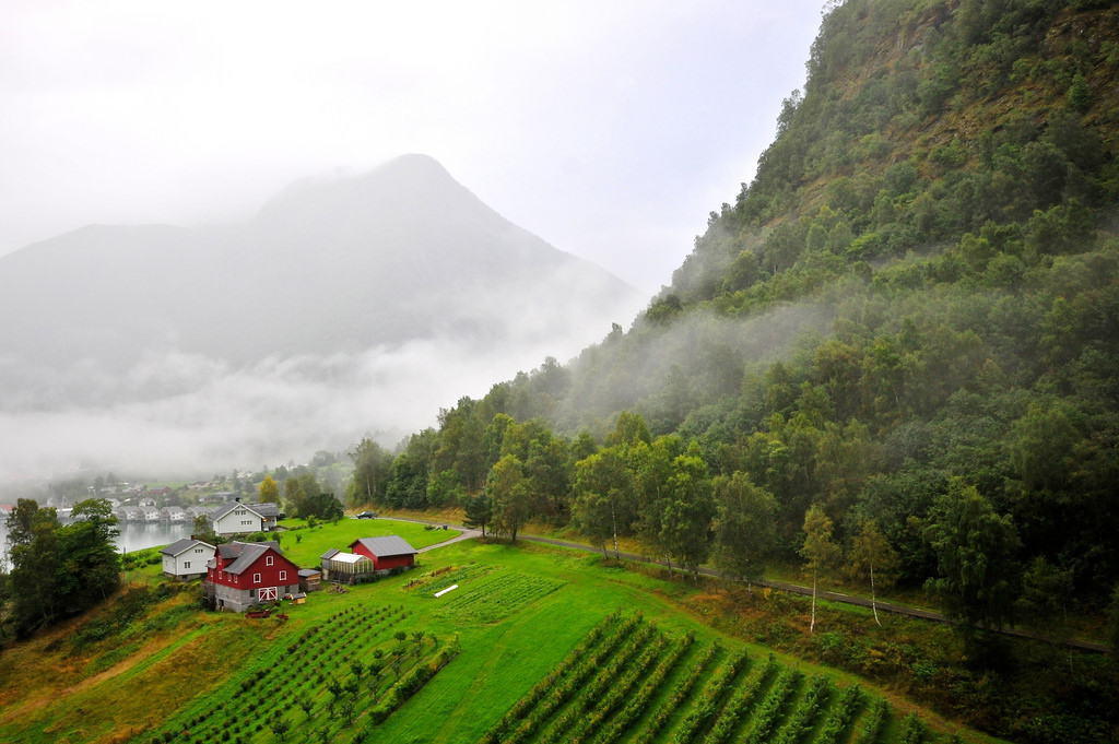 Norwegian Farm House by Paolo Camera, on Flickr
