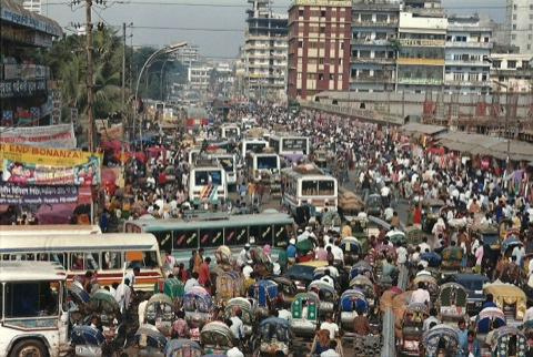 Dhaka traffic-Kyra by nist6ss, on Flickr