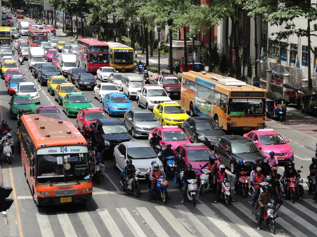 Bangkok's Traffic! by travelourplanet.com, on Flickr