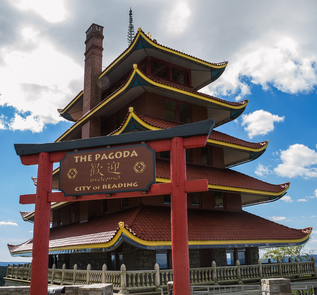 Welcome to the Pagoda in Reading PA by chris favero, on Flickr