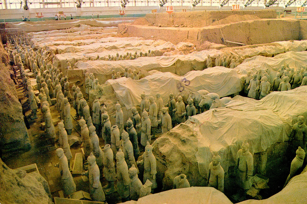 """Xian - The """"Terracotta Army""""  af Ancient by roger4336, on Flickr"""