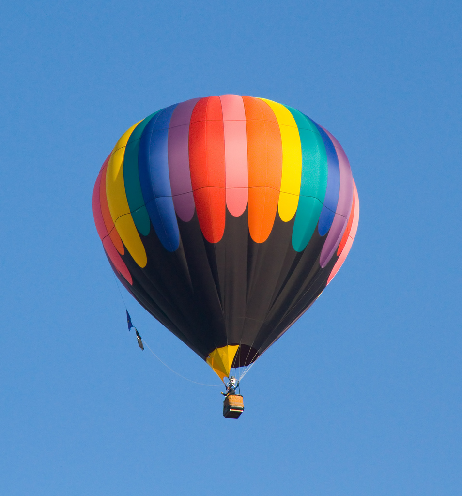 Hot Air Balloon by ahisgett, on Flickr