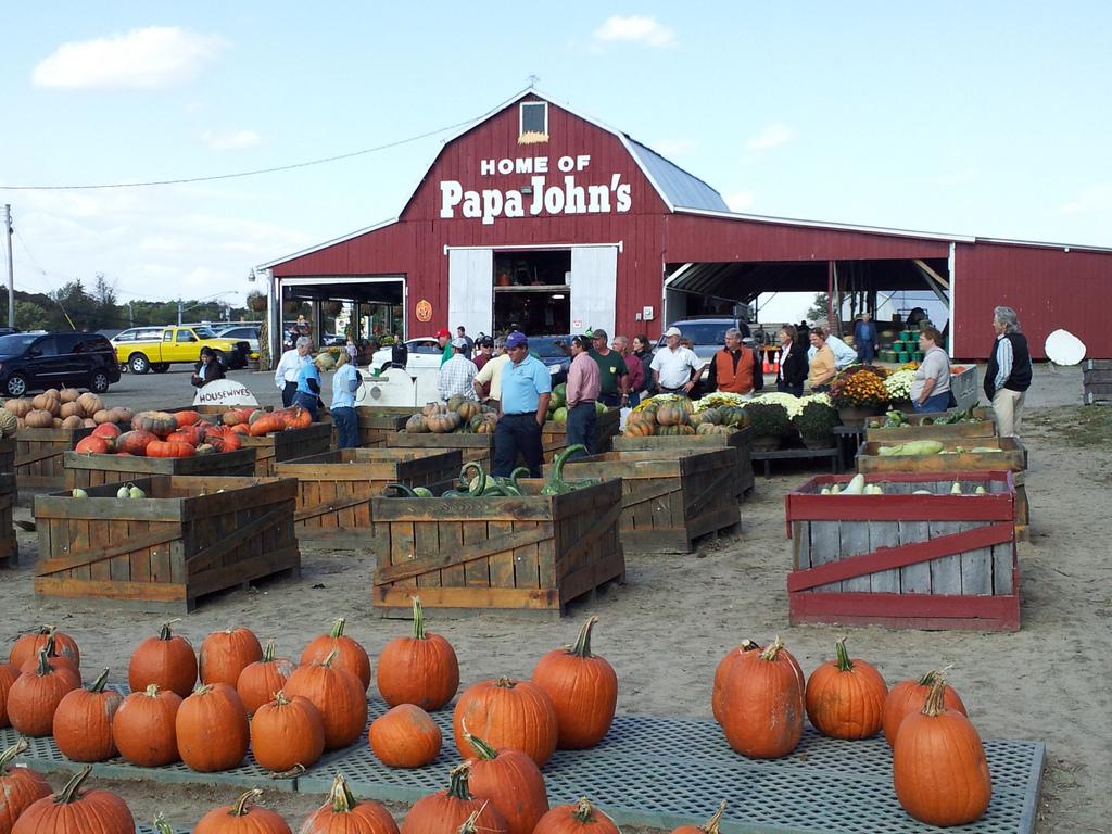 Papa John's Farm Stand, Glen Burnie by MdAgDept, on Flickr