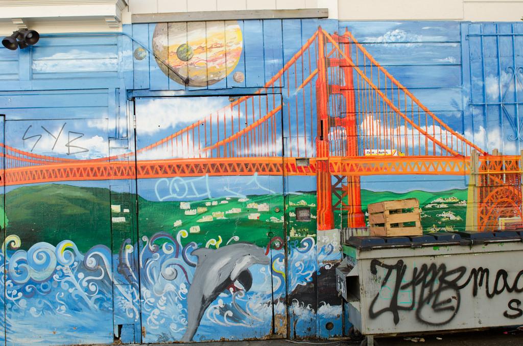 Golden Gate Bridge Mural by Franco Folini, on Flickr