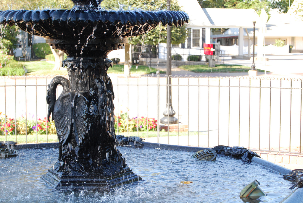 Plashing Fountain by LearningLark, on Flickr
