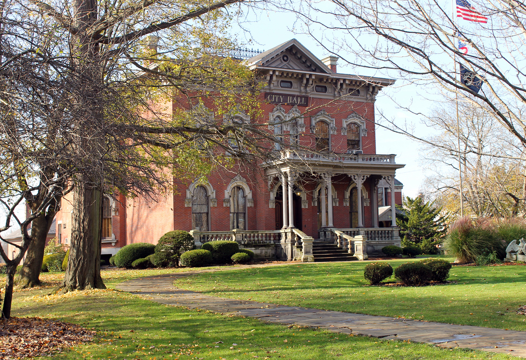 Perkins Mansion, Warren, Ohio by Jack W. Pearce, on Flickr