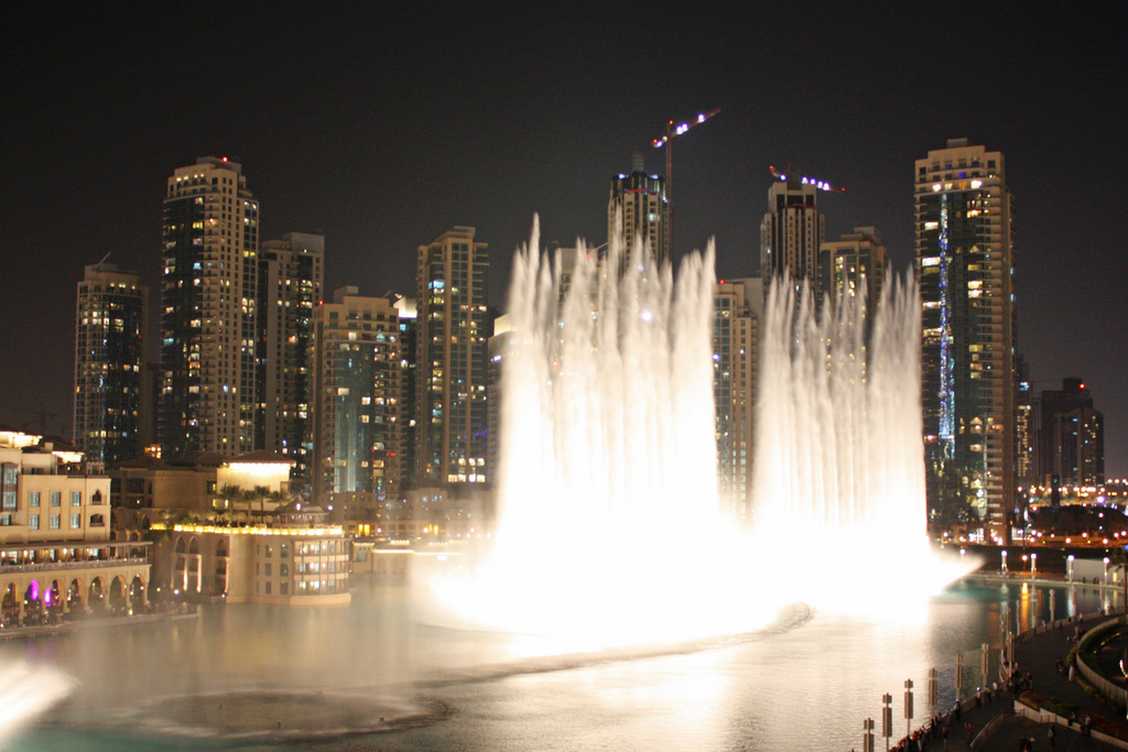 Dubai fountain by arripay, on Flickr