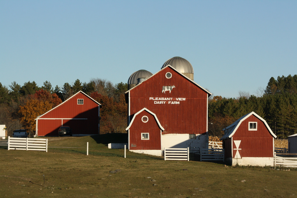 Pleasant View Dairy Farm - Dundee, Wisco by royal_broil, on Flickr