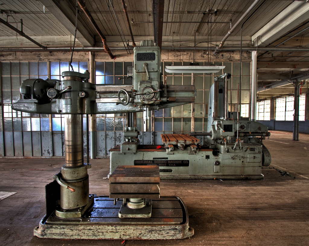 Machine Shop at Swift Gold Leaf by TunnelBug, on Flickr