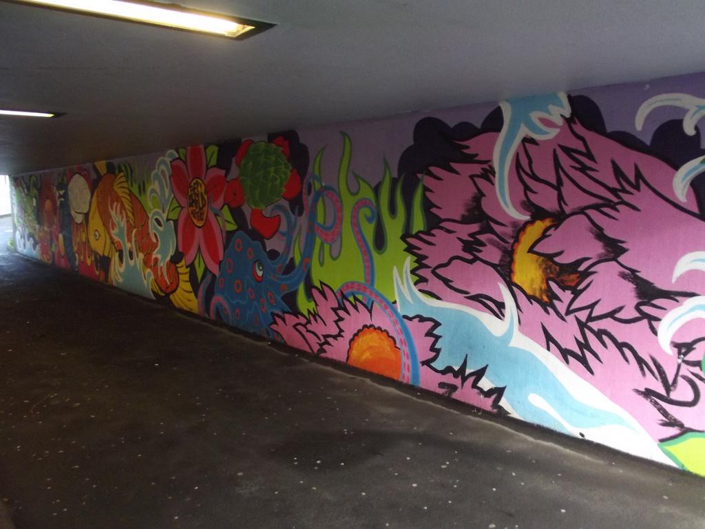 Graffiti street art mural - Redditch by ell brown, on Flickr