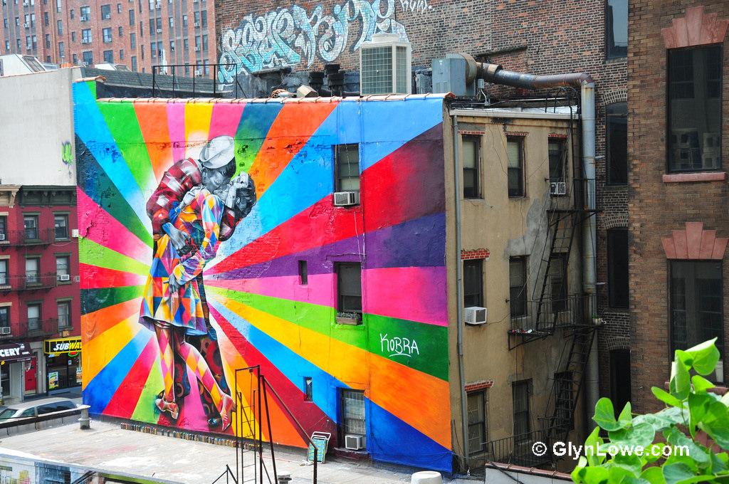 Eduardo Kobra's mural of Alfred Eisens by Glyn Lowe Photoworks., on Flickr