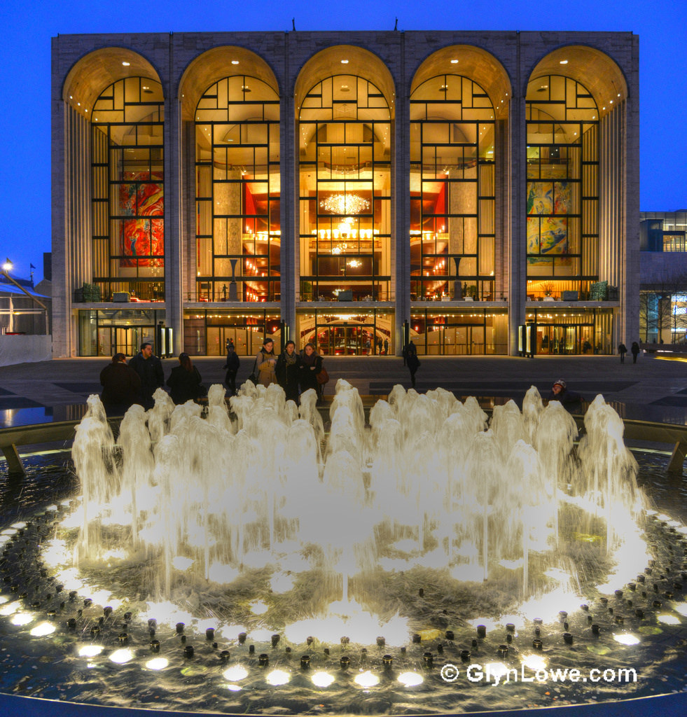 Lincoln Center - Revson Fountain - Manha by Glyn Lowe Photoworks., on Flickr