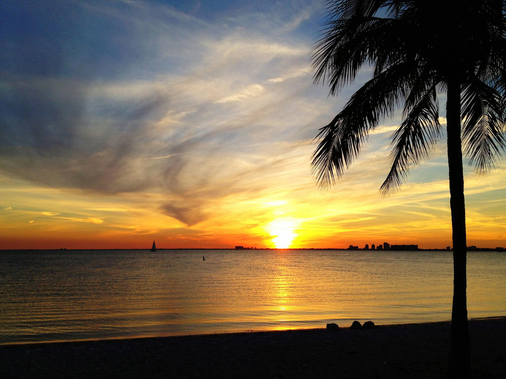 Key Biscayne Perfect Sunset by miamism, on Flickr