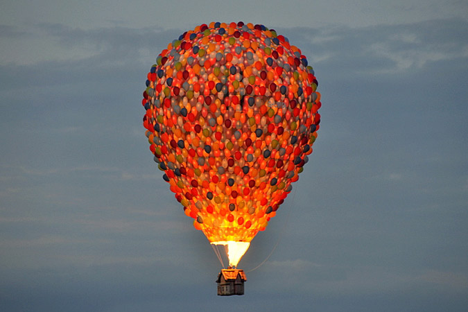Up Hot Air Balloon by Warrior Outrageous (formerly Pookitoots), on Flickr