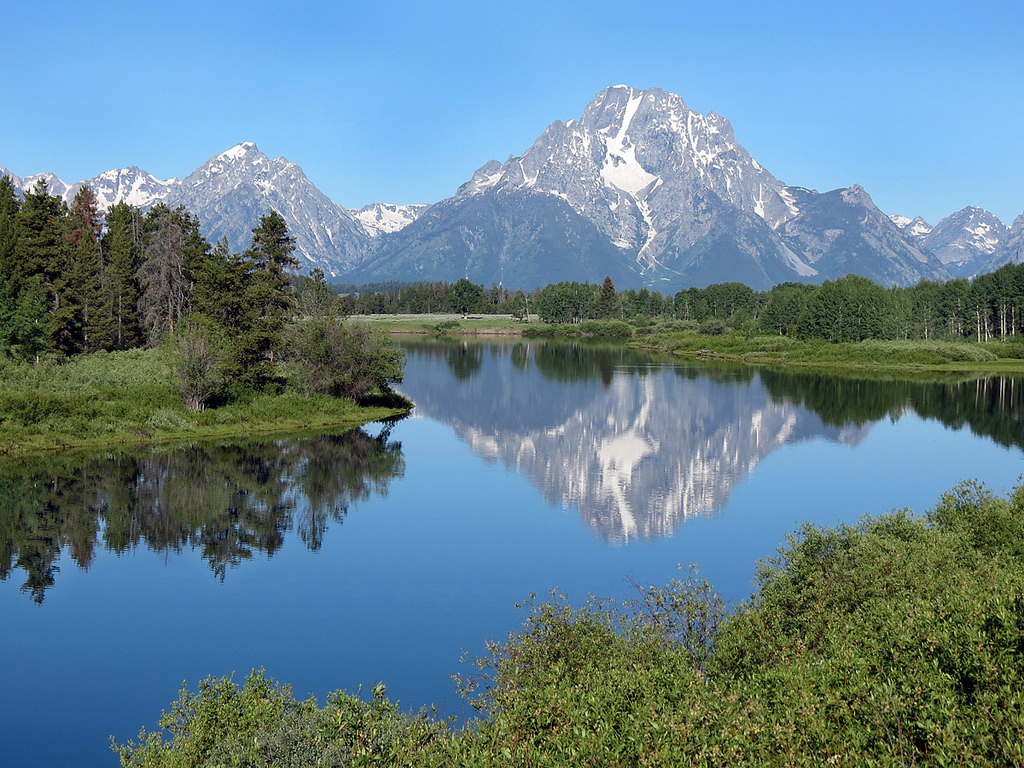 Oxbow Bend, Grand Teton National Park by rarvesen, on Flickr