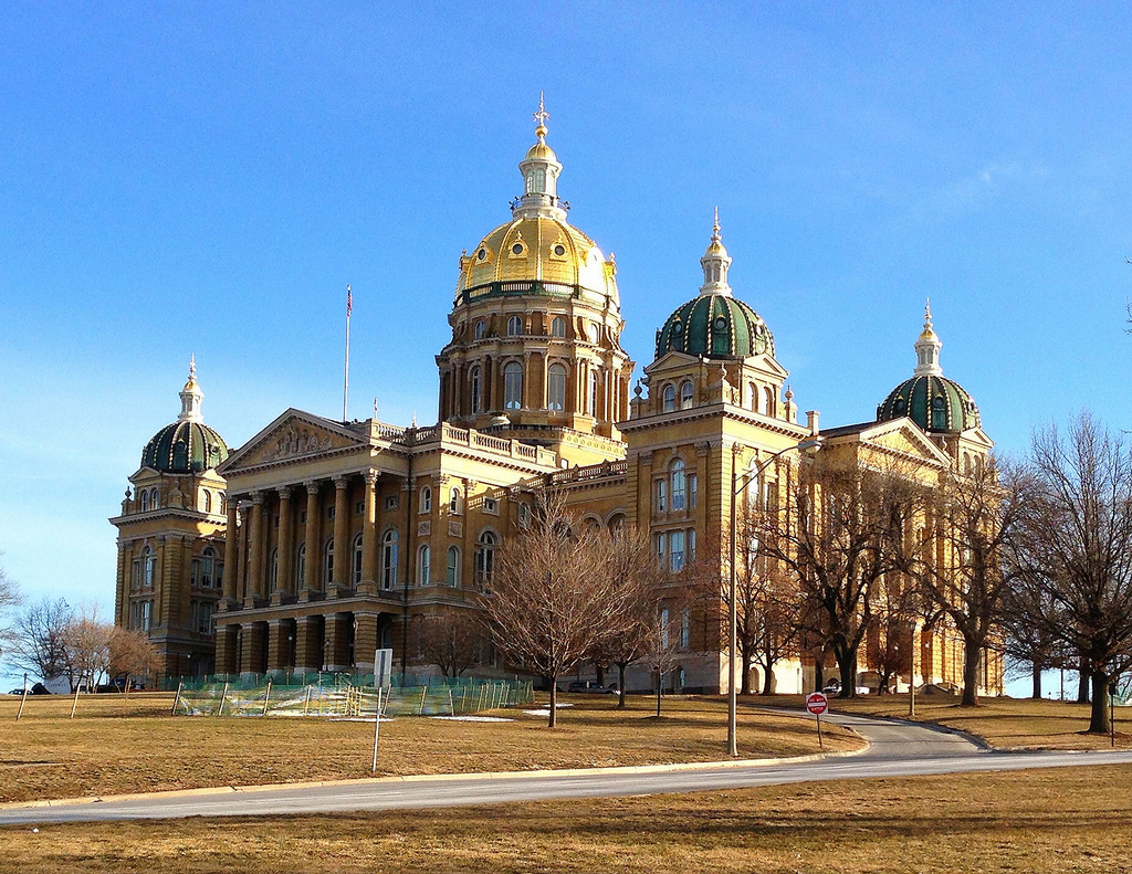 Iowa State Capitol by rsmithing, on Flickr