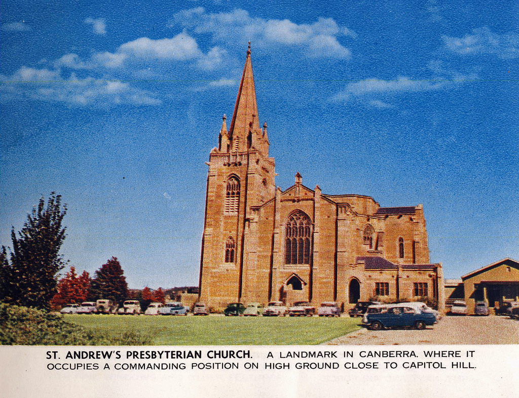 St. Andrew's Presbyterian Church, Canber by Aussie~mobs, on Flickr