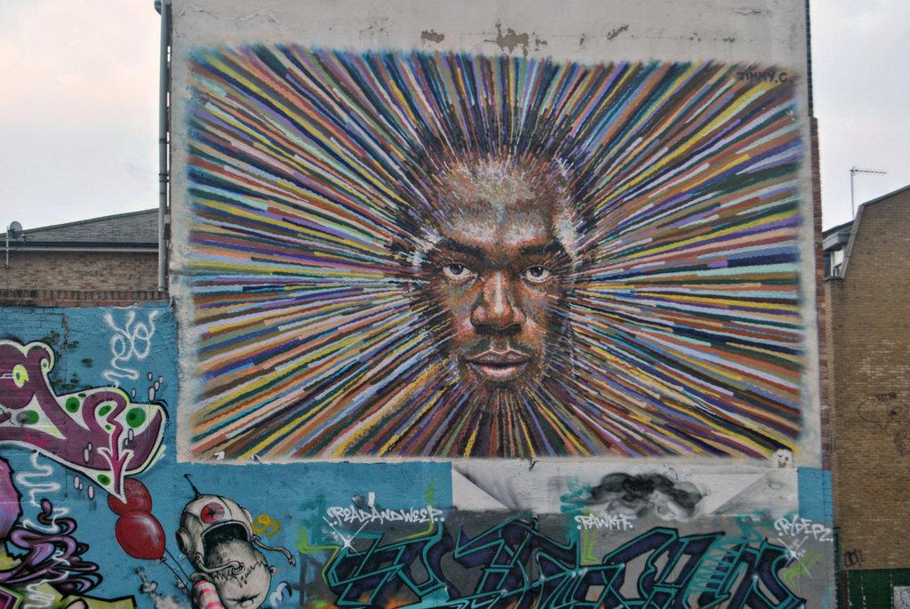 Usain Bolt Mural by Loco Steve, on Flickr