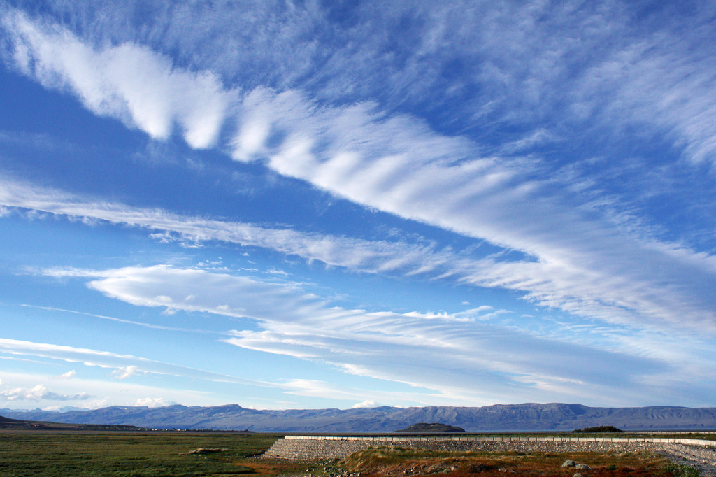 Cirrus clouds, El Calafate, Argentina by Dimitry B, on Flickr
