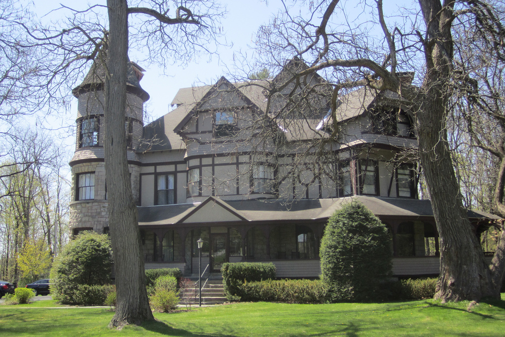 Historic Annandale Mansion, Clinton St, by P_R_F, on Flickr