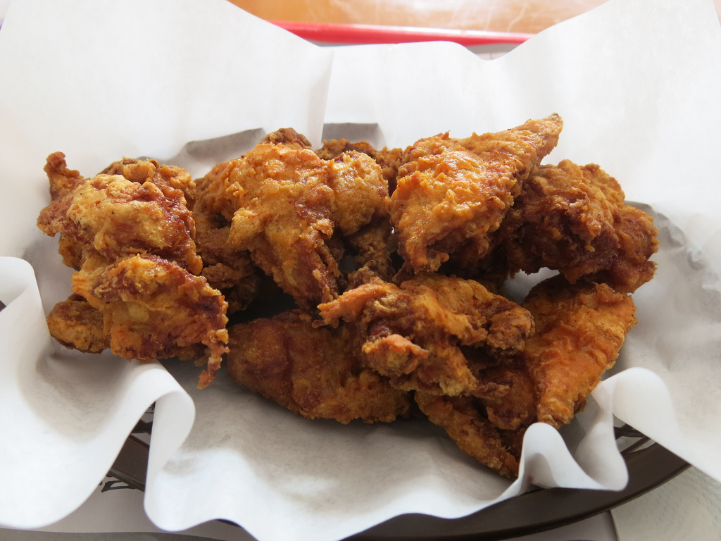 Korean Fried Chicken (Closeup) at Aria K by Gary Soup, on Flickr