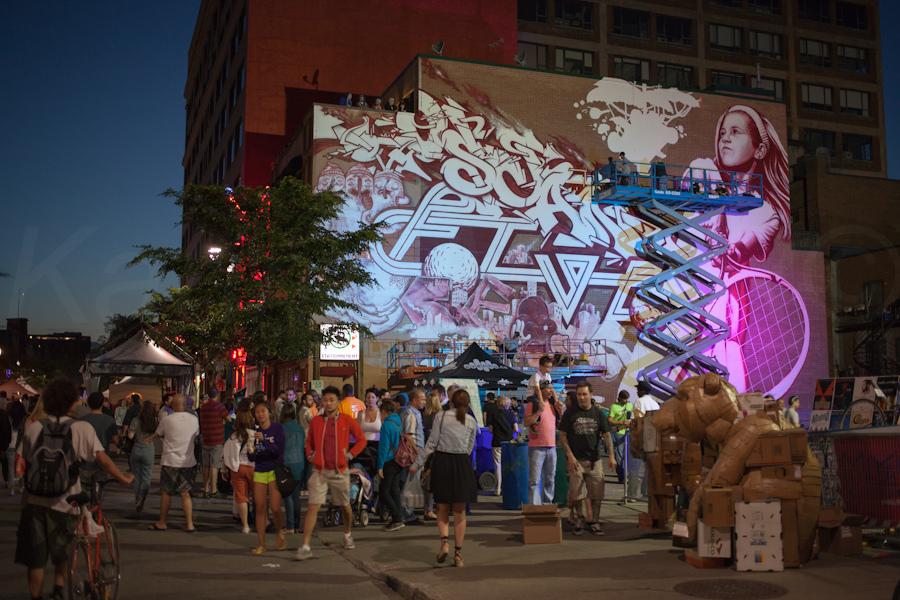 Festival MURAL de Montréal by Karim Amar, on Flickr