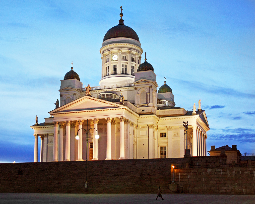Helsinki Cathedral, White Night by Dimitry B, on Flickr