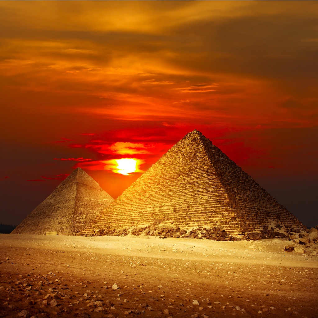 Giza-Pyramids-Egypt by Prof.Zidan, on Flickr